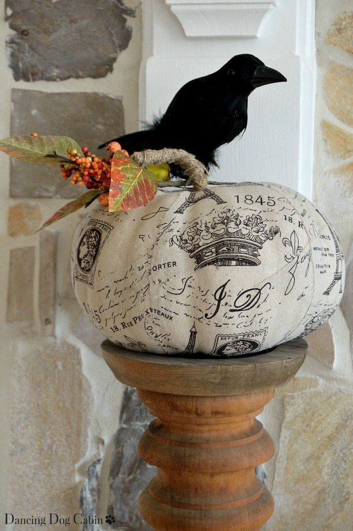Dancing Dog Cabin: Halloween is Coming: Things That Go Bump on My Mantle