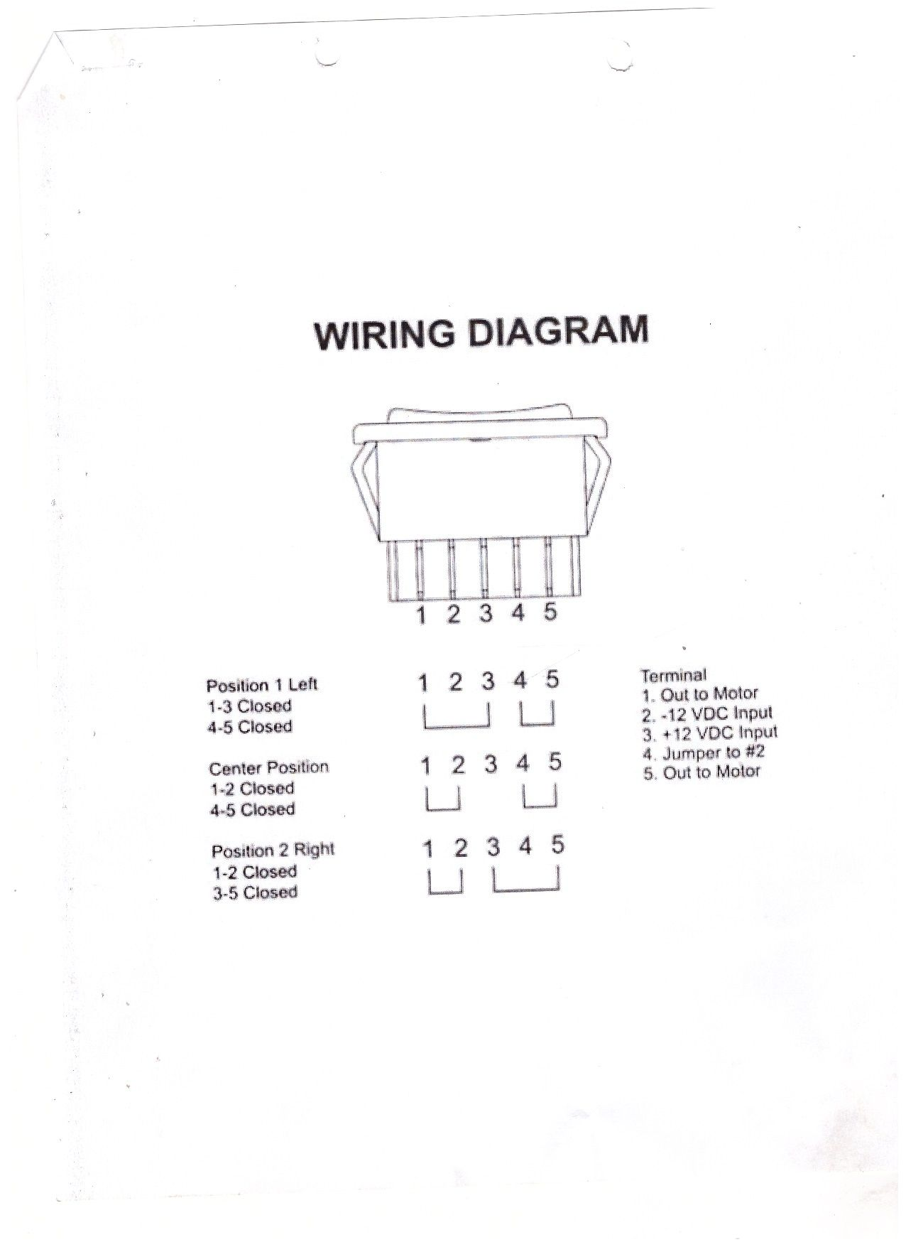 Best 12v Relay Wiring Diagram Pin Images At Switch 5 How To Wire A 2 Position