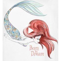 offizieller  lizenzierter fanartikel bei emp arielle die meerjungfrau born to dream t-shirt für