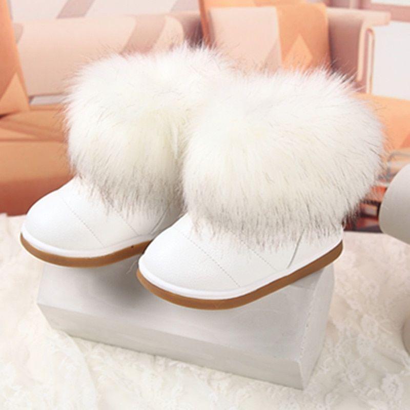 Brand Children Shoes Girls Snow Boots