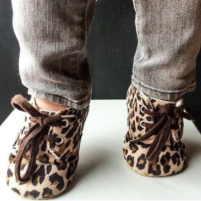 Baby Shoes : Leopard Print Crib Shoes | Jane