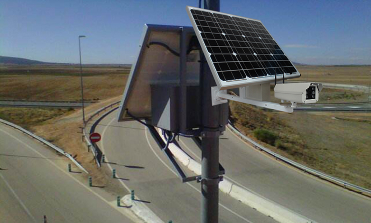 Sunwebcam Provides An Affordable Traffic Monitoring For Towns Of Any Size Saving The Cost Of Typical Solutions Involv Bullet Camera Site Plan Roof Solar Panel