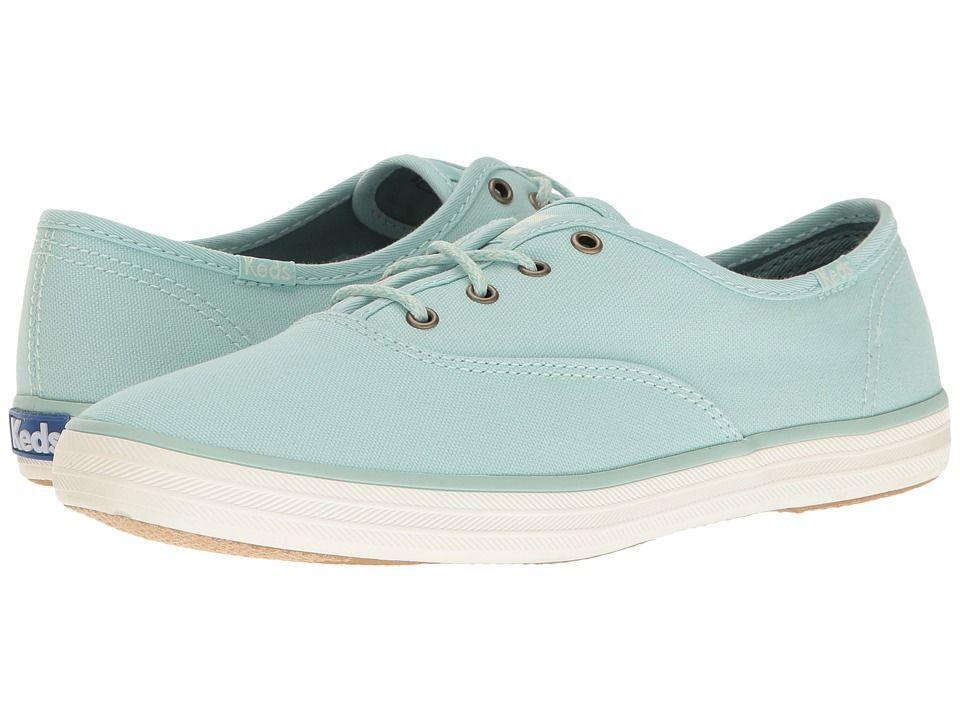 024863fc7a KEDS KEDS - CHAMPION SEASONAL SOLID (EGGSHELL BLUE) WOMEN'S LACE UP CASUAL  SHOES. #keds #shoes #