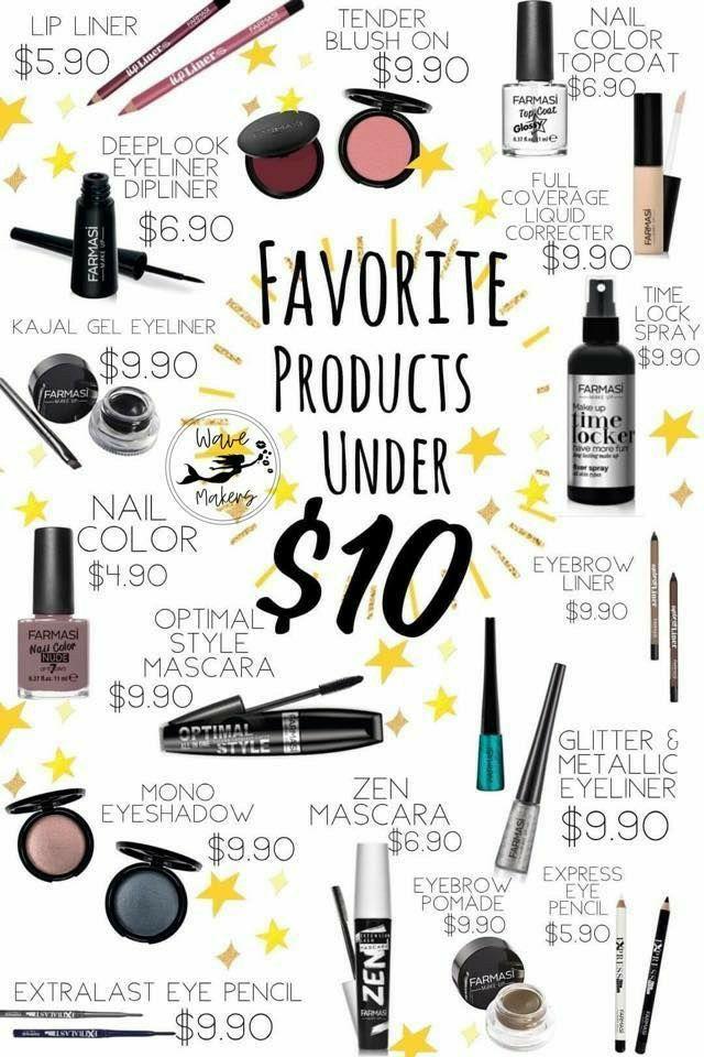 Farmasi in 2020 Cosmetics usa, Gel eyeliner, Makeup