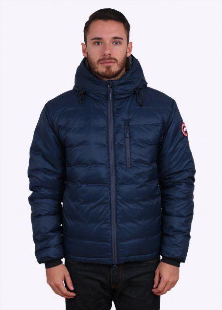 canada goose lodge down jacket spirit blue