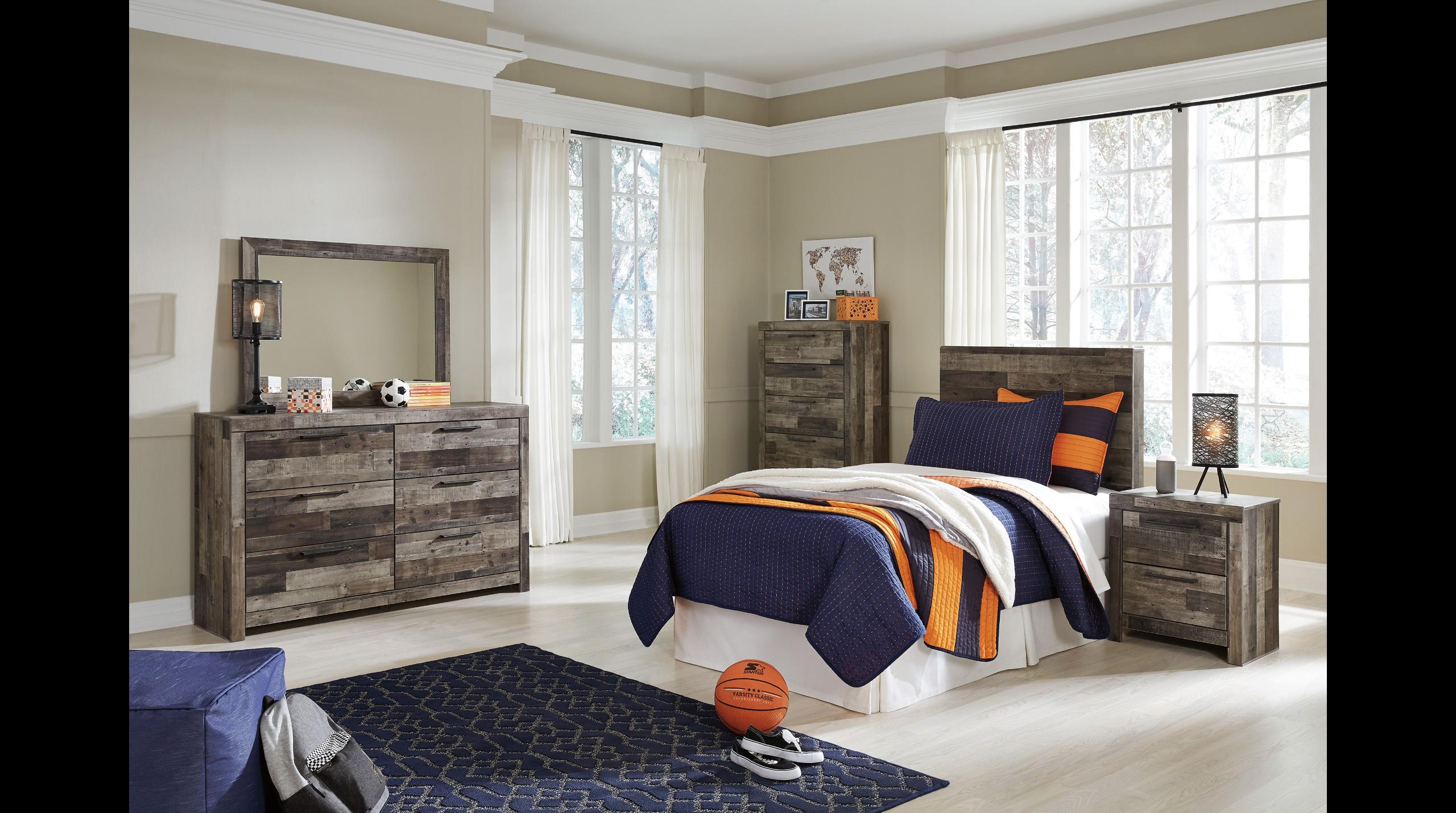 Ashley Derekson Twin Bed Homemakers Furniture Bedroom
