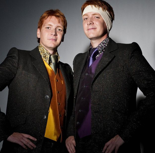 Which Harry Potter Duo Are You And Your Bff Fred And George Weasley George Weasley Oliver Phelps