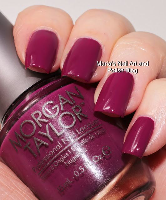 Morgan Taylor Berry Perfection | Ongles | Pinterest | Capilla y ...