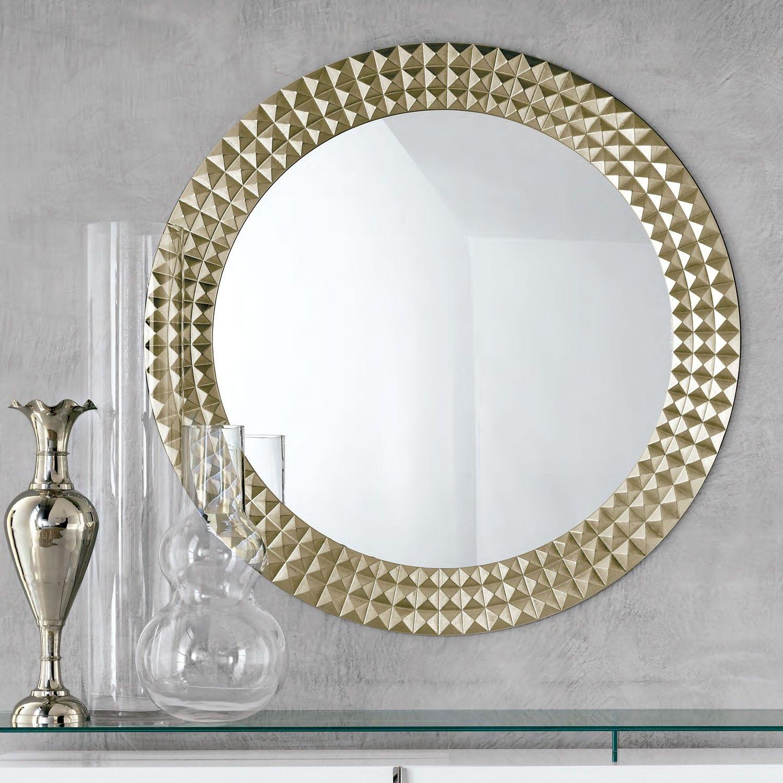 cattelan italia espejo egypt diseo leonardo dainelle espejo de pared con marco en madera