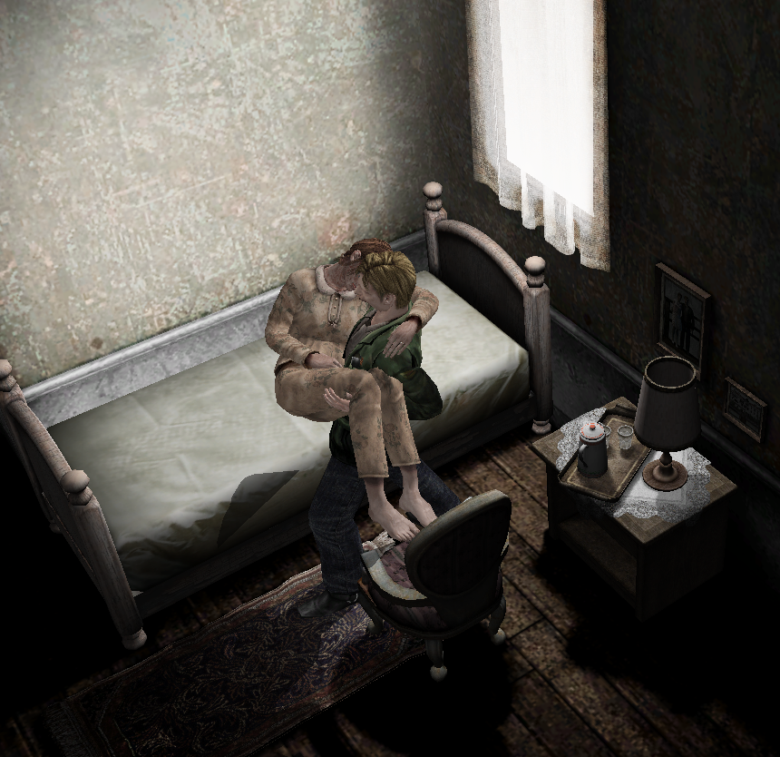 Mary Shepherd Sunderland And James Sunderland Silent Hill 2
