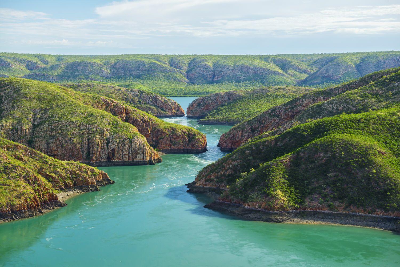 Cascades horizontales : Ces merveilleuses photos quidonnentenvie de voyager - Linternaute