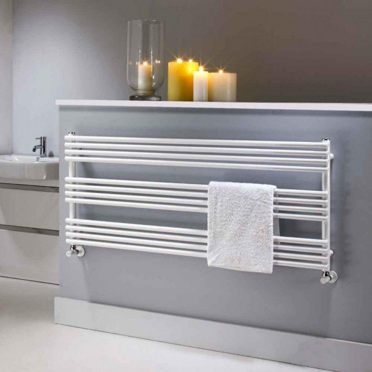 The Radiator Company Poll Bdo Designer Heated Towel White