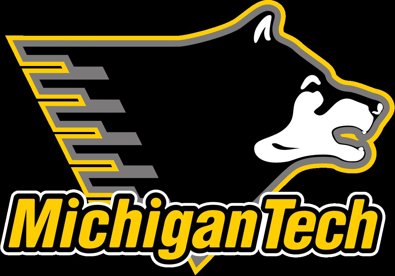1280px Michigan Tech Ath Svg Png 1280 895 Michigan Tech Michigan Technological University Michigan