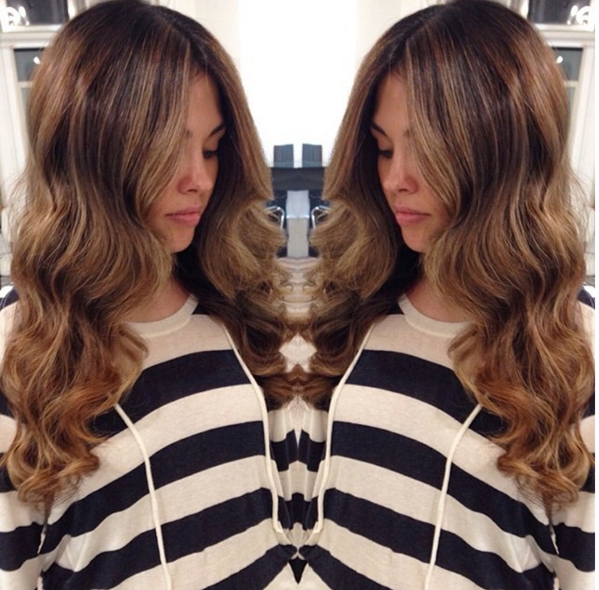 Look At This Beach Wave Babe Create This Look By Using Glam
