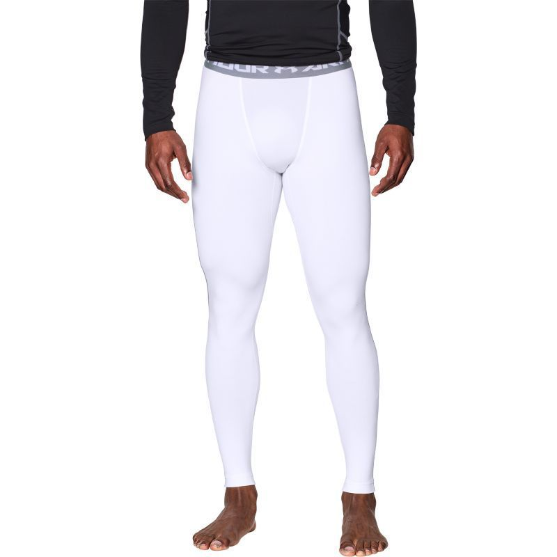 0fb34e26158abe Under Armour Men's ColdGear Armour Compression Leggings, Size: Medium,  White #underarmourleggingsmenswhite