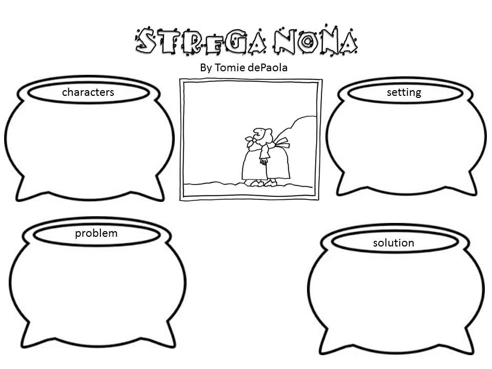 Download or print this amazing coloring page: Strega Nona