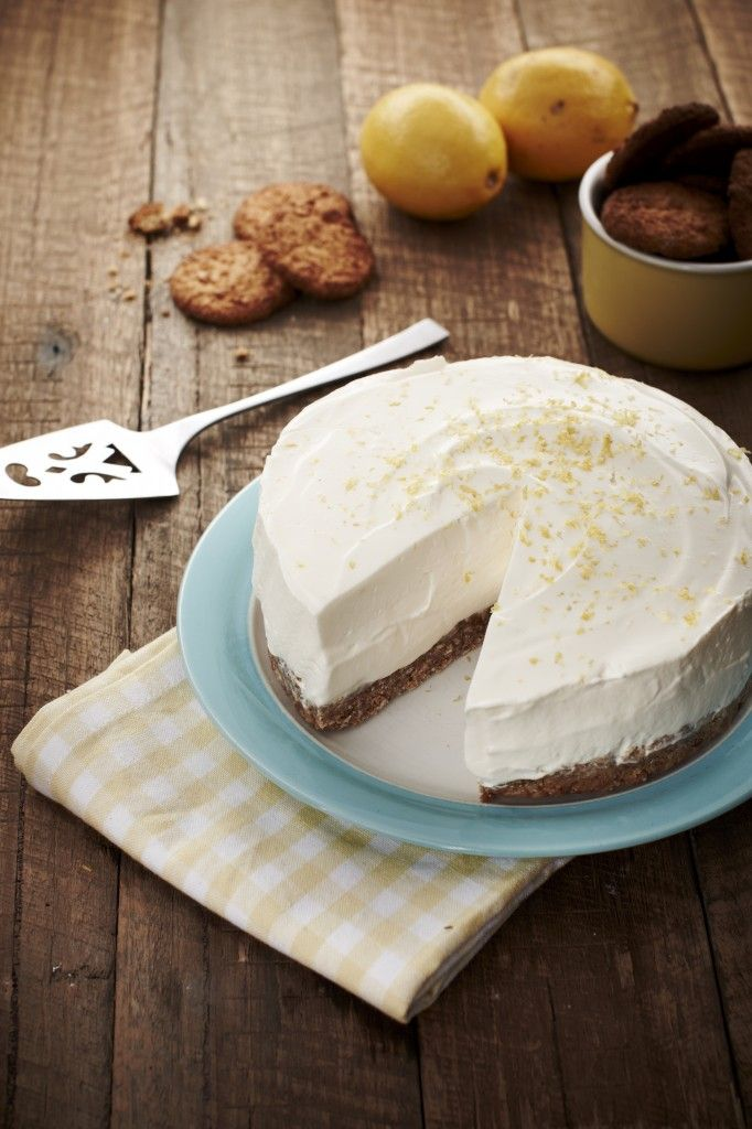 'No Bake' ANZAC Lemon Cheesecake from Danni Venn.