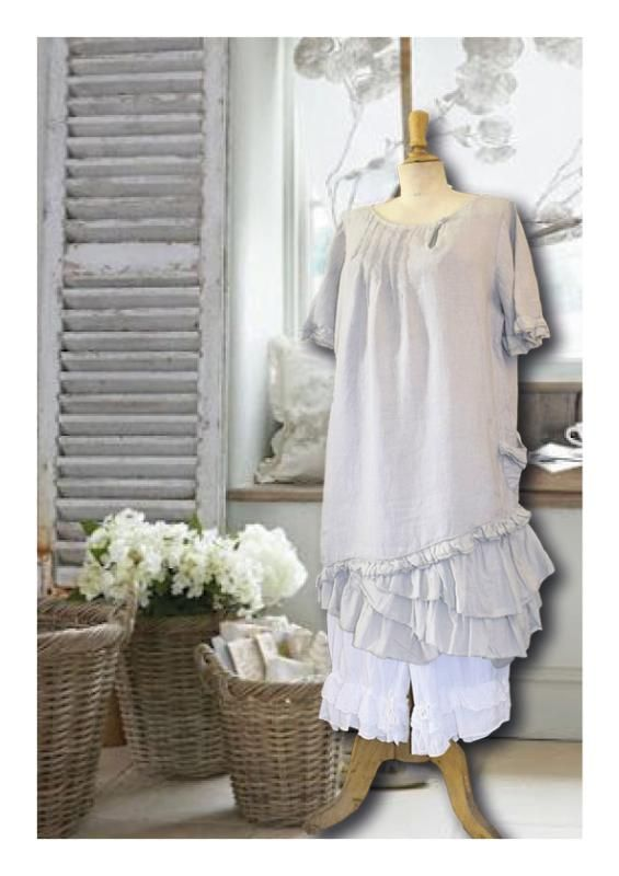 LinMarque Days Robe KalimbakaSo Provencal Lagenlook En Pour nk8OXN0wP