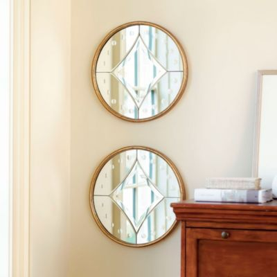 Powder Room If We Go W Gold Accents Acadia Mirror European Inspired Home