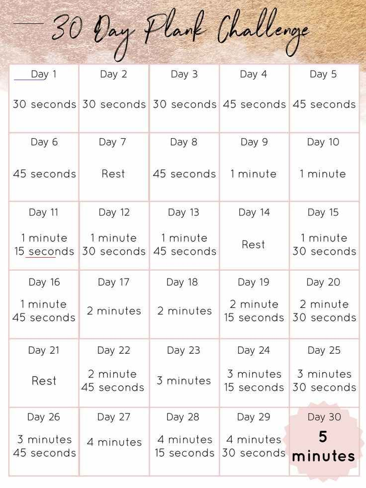 30 Day Plank Challenge Ready to build strength, stamina, and confidence? Join me for this 30 Day Pla...