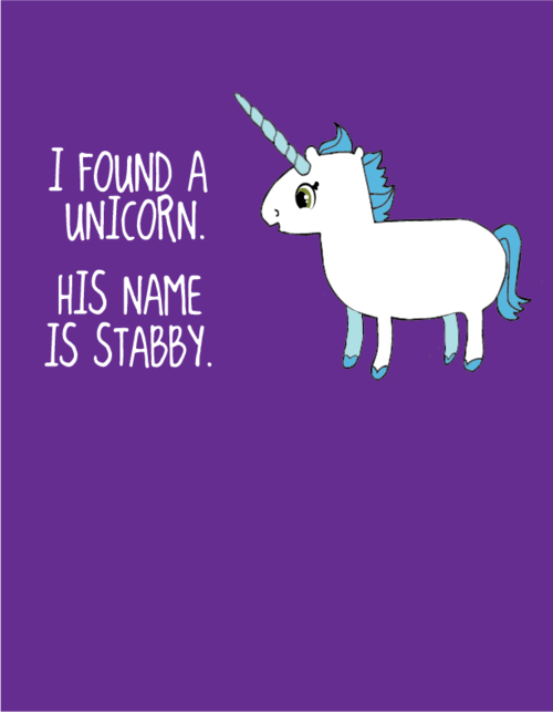 c6265d1135329 for some unknown reason this made me laugh until i cried Magical Unicorn,  Real Unicorn