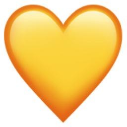 Yellow Heart Png 256 256 Emoji Sfondi Estetici Adesivi