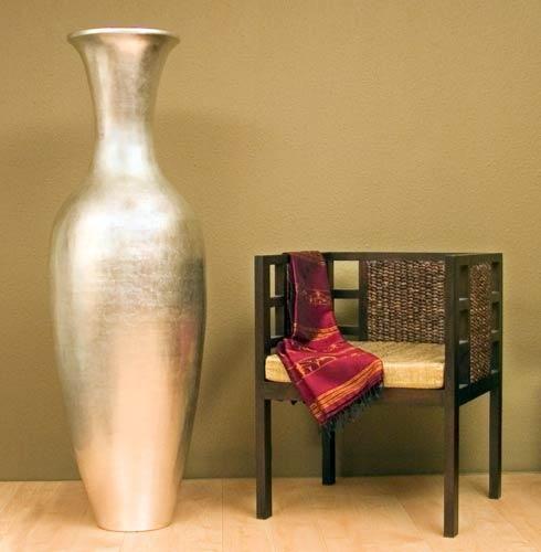 Silver Large Floor Vase 595 Large Floor Vase Floor Vase