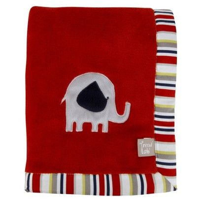 Elephant Embroidery Receiving Blanket (846216035135) Bring your baby home in this adorable elephant embroidery receiving blanket. This color fast blanket is made with soft cotton and polyester. Its cozy colors in red, navy yellow and gray will catch baby s eye right away. You can never have enough receiving blankets around the house, as they have so many convenient uses. Baby blankets make thoughtful gifts every baby needs a few.