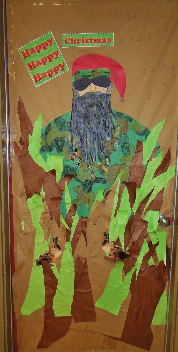 Christmas Door Decorating Ideas | Duck Dynasty Christmas School Door Decoration 2012 | Door Ideas & Christmas Door Decorating Ideas | Duck Dynasty Christmas School Door ...