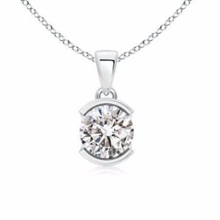 This Is What She Wants Solitaire Diamond Necklace Designs From The Classic One To T Diamond Necklace Designs Modern Diamond Necklace Silver Diamond Necklace