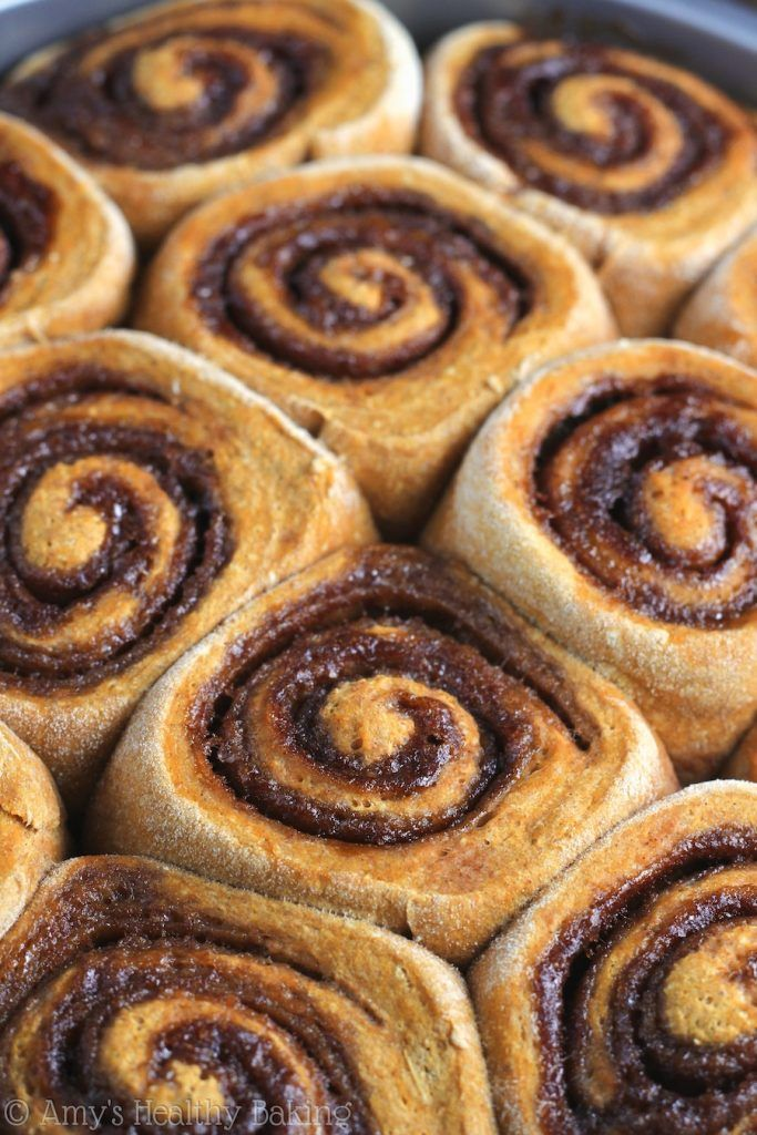 These Pumpkin Cinnamon Rolls look amazing! Breakfast here I come! Click through…