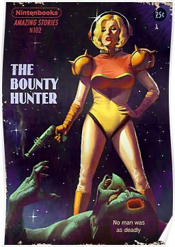 The Bounty Hunter Poster by Ástor Alexander
