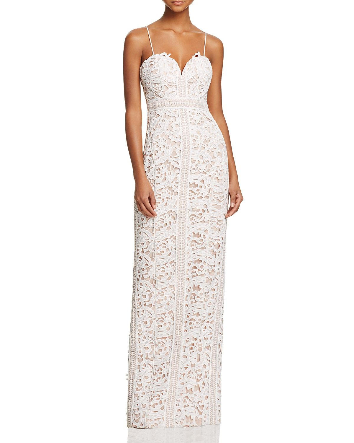 Bariano Sweetheart Lace Gown 100 Exclusive Women Dresses Evening Formal Gowns Bloomingdale S Lace Gown Bariano Formal Evening Dresses [ 1500 x 1200 Pixel ]