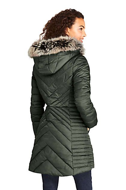 Women's Insulated Plush Lined Winter Coat 2