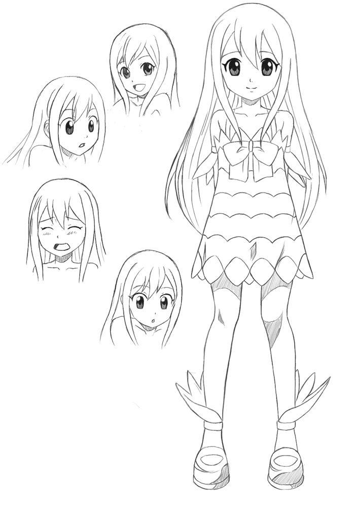 Resultado De Imagen Para Dibujo Anime Cuerpo Entero Dibujos