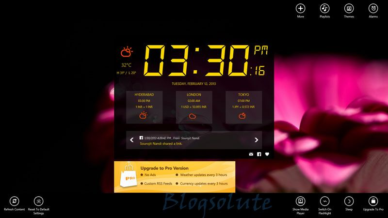 Top 4 Alarm Clock Apps for Windows 8   samartechsolutions