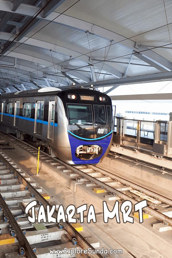 Mrt Jakarta The New Public Transportation In Jakarta Public Transport Jakarta National Monuments