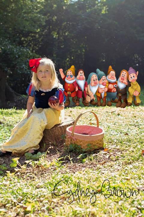 Child Photography Snow White Little Princess Fairy Tale Princess
