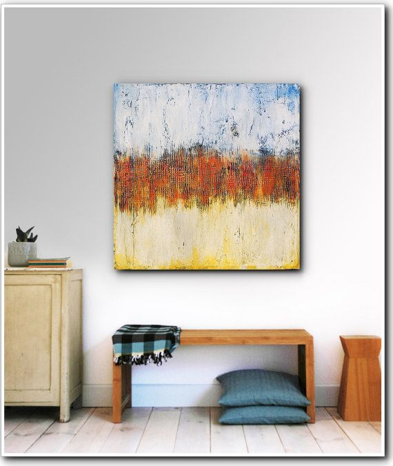 ART- Original Abstract Painting Contemporary Textured Acrylic ...