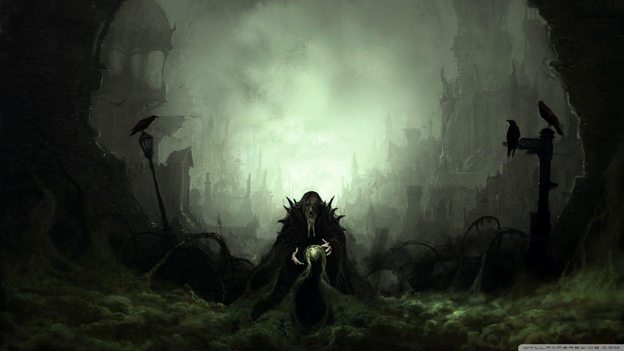 Dark Art Hd Desktop Wallpaper Widescreen High Definition Fullscreen Mobile In 2020 Dark Fantasy Dark Art Evil Art