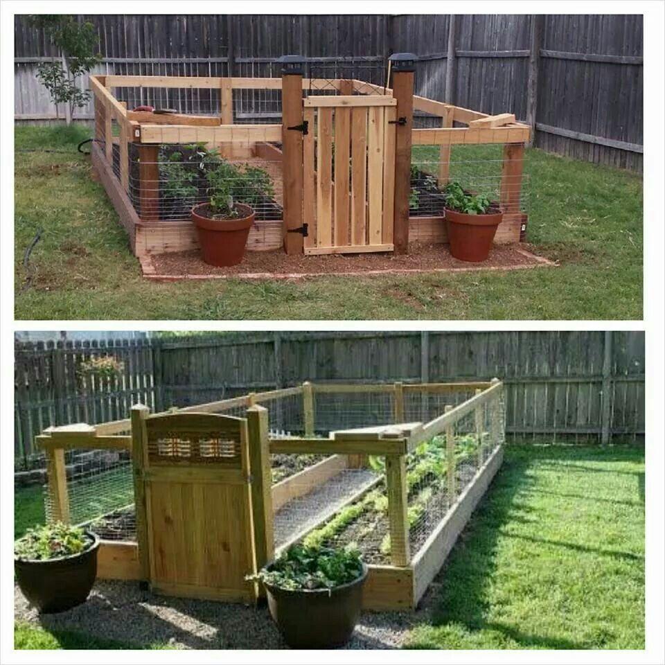 Enclosed Garden Love Fenced Vegetable Garden Garden 400 x 300