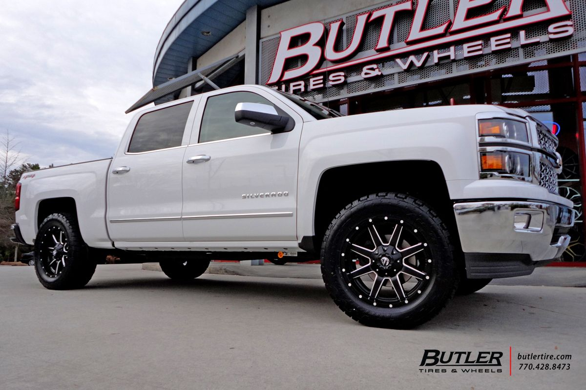 All Chevy chevy 1500 wheels : Chevrolet Silverado with 20in Fuel Maverick Wheels | Projects to ...