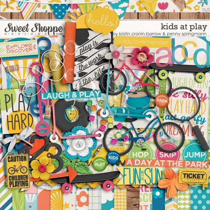 Kids at Play by Kristin Cronin-Barrow and Penny Springmann