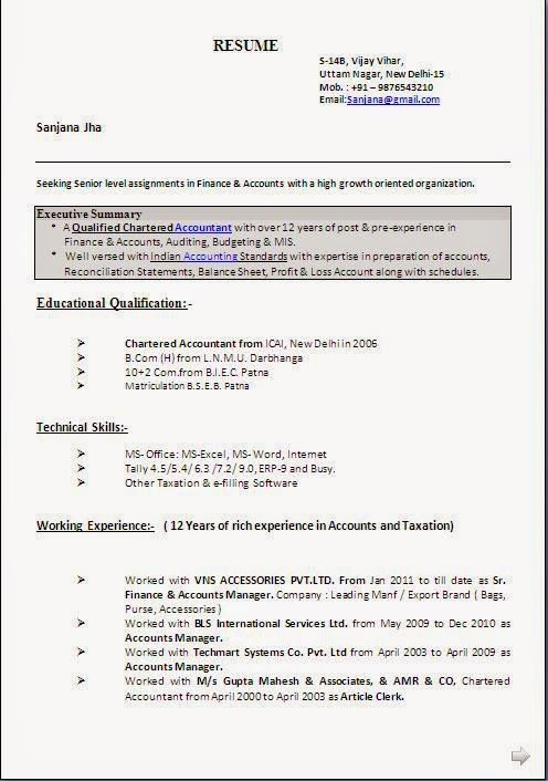 example of student cv Sample Template Example ofExcellent - bank reconciliation statement template