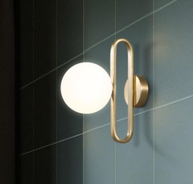 Engilla Oval Ring Wall Lamp In 2020 Wall Lamp Wood Wall Lamps Modern Wall Lamp