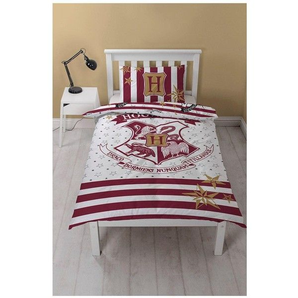 harry potter hogwarts single duvet cover set 52 aud liked on polyvore featuring - Ikea Lebensmittelbehlter