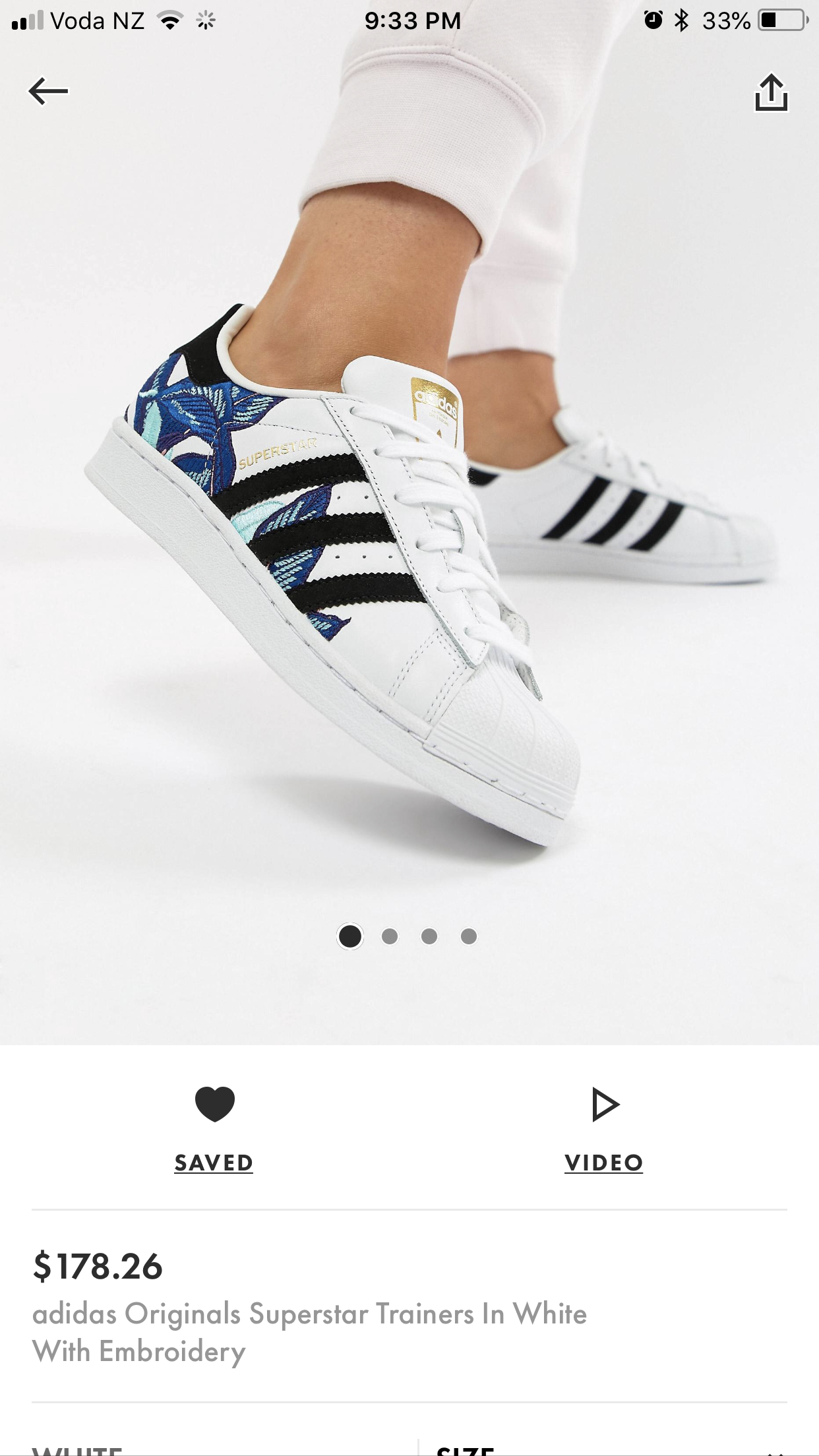 adidas superstar en azul