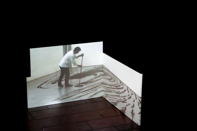 """ The Day After"" | Igor Eškinja  at Galerija Alkatraz (Ljubjana,Slovenia) (2013) Croatia"