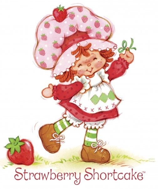 Vintage strawberry shortcake movie