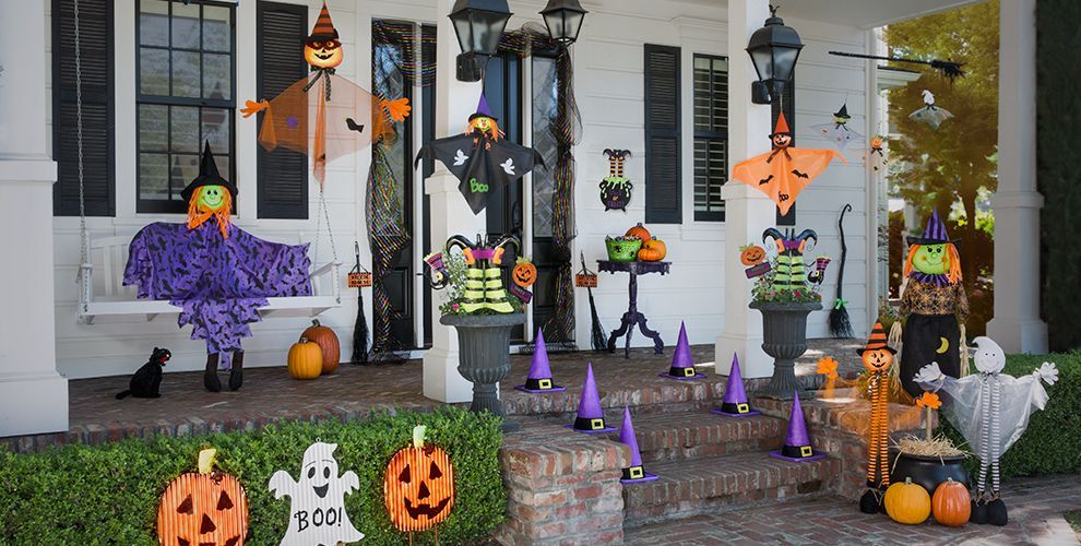 Complete List Of Halloween Decorations Ideas In Your Home Kid Friendly Halloween Decorations Halloween Outdoor Decorations Halloween Decorations Diy Outdoor